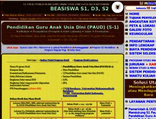 s1-paud-pendidikan-guru-anak-usia-dini.kuliahkaryawan.my.id screenshot