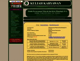 s1-planologi-teknik-perencanaan-wilayah-dan-kota.kuliahkaryawan.my.id screenshot