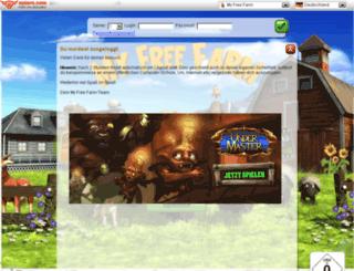 s11.myfreefarm.de screenshot