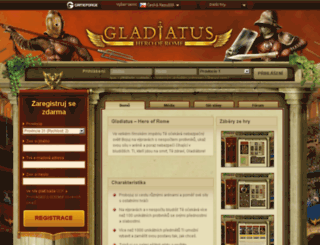 s13.gladiatus.cz screenshot