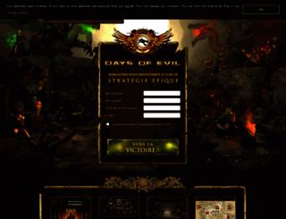 s2.daysofevil.com screenshot