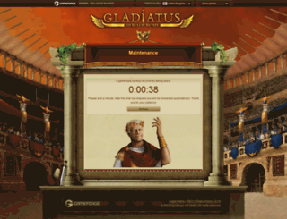 s2.gladiatus.ir screenshot