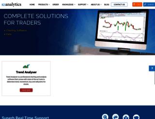 s2analytics.com screenshot
