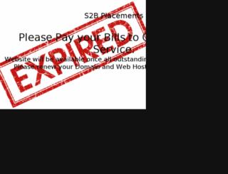 s2bplacements.com screenshot