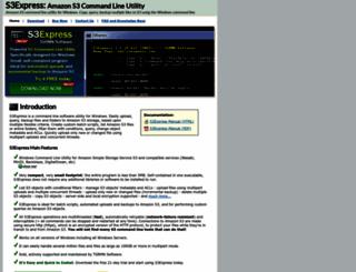 s3express.com screenshot