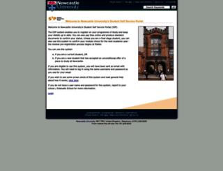 s3p.ncl.ac.uk screenshot