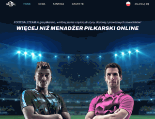 s4.footballteam.pl screenshot
