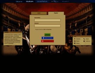 s5.gladiatus.cz screenshot