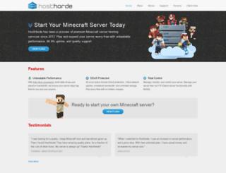 s56.hosthorde.com screenshot