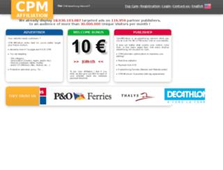 s62.cpmaffiliation.com screenshot