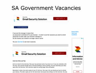 sa-government-vacancies.blogspot.com screenshot