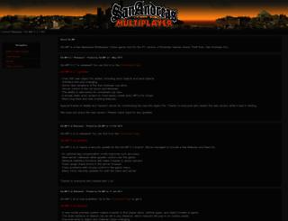 sa-mp.com screenshot
