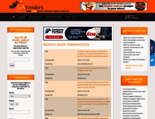 sa-tenders.co.za screenshot