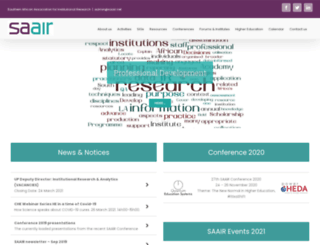 saair-web.co.za screenshot