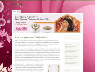 saakshijewellery.wordpress.com screenshot