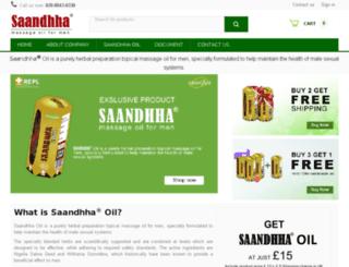 saandhhaoiil.com screenshot