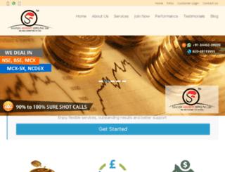 saanjhadvisory.com screenshot