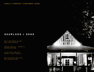 saarloosandsons.com screenshot