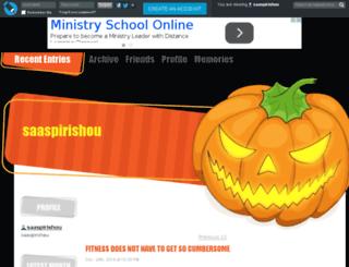 saaspirishou.livejournal.com screenshot