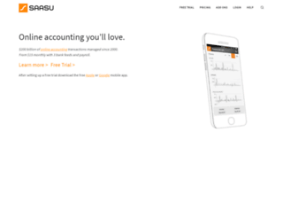 saasu.com screenshot