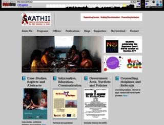 saathii.org screenshot