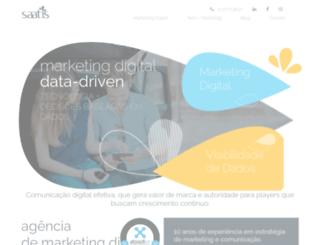 saatis.com.br screenshot