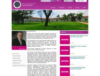 sab.yildiz.edu.tr screenshot