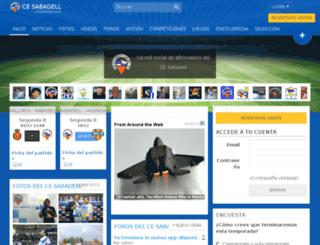 sabadell.incondicionales.com screenshot