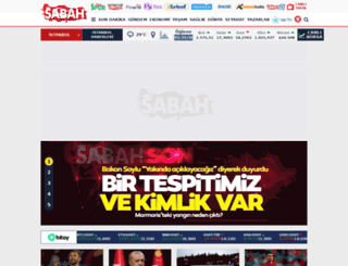 sabah.com.tr screenshot