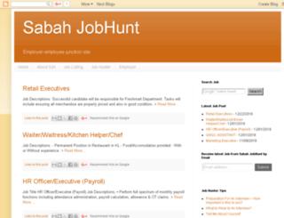 sabahjobhunt.com screenshot