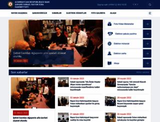 sabail-ih.gov.az screenshot