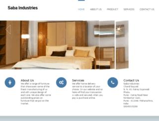 sabaindustries.net screenshot