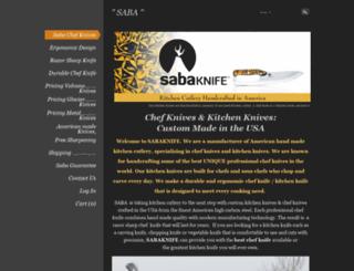 sabaknife.com screenshot