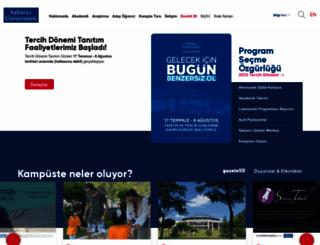 sabanciuniv.edu screenshot