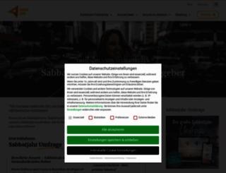 sabbatjahr.org screenshot