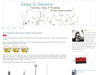 sabbyinsuburbia.blogspot.com screenshot