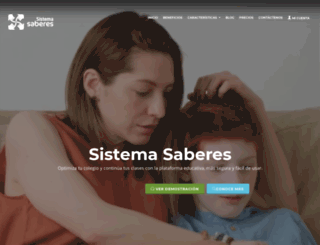 saberes.co screenshot