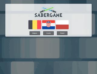 sabergame.com screenshot