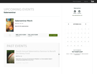 saberseminar.ticketleap.com screenshot