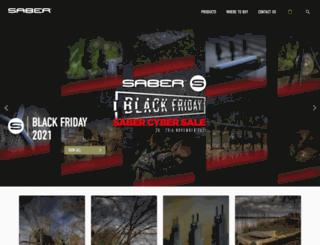 sabertackle.com screenshot