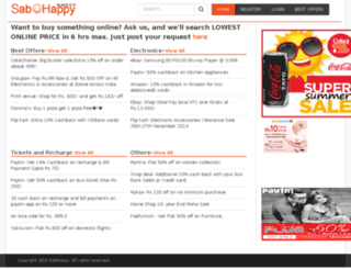 sabhappy.com screenshot