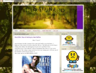 sabinasadventuresinreading.blogspot.dk screenshot