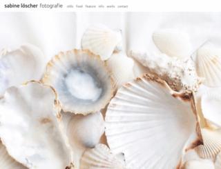 sabine-loescher.de screenshot