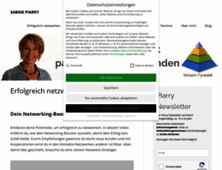 sabine-piarry.com screenshot