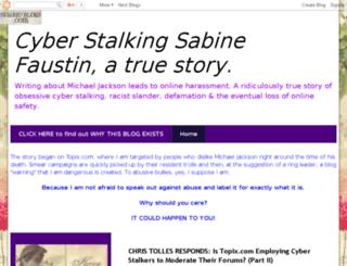 sabinefaustin.blogspot.com screenshot