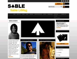 sablelitmag.org screenshot
