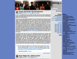 sablog.de screenshot