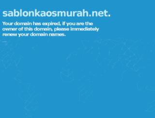 sablonkaosmurah.net screenshot