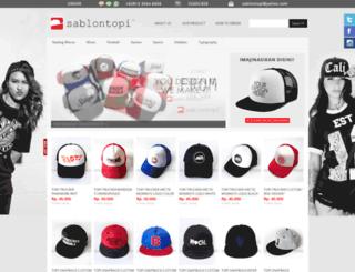 sablontopi.com screenshot