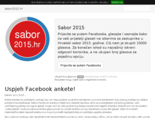 sabor2015.hr screenshot